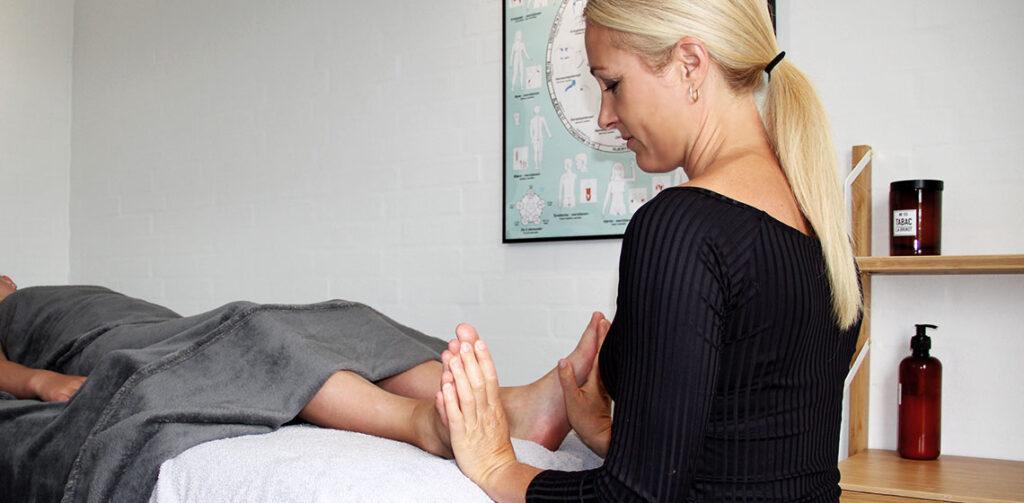 Zoneterapi i klinik - Charlotte Velling Møller